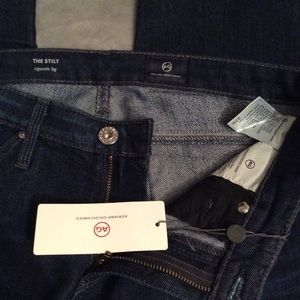 AG The Stilt Cigarette Jeans NWT Size 27